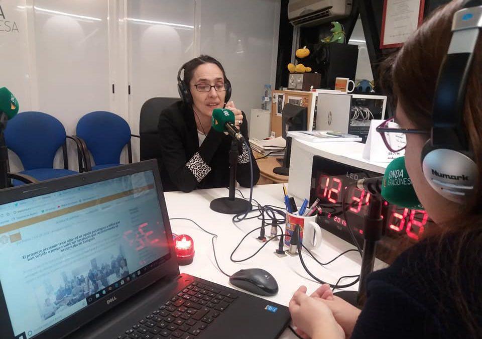 Diana Hidalgo en el programa 'Siente Aragón'