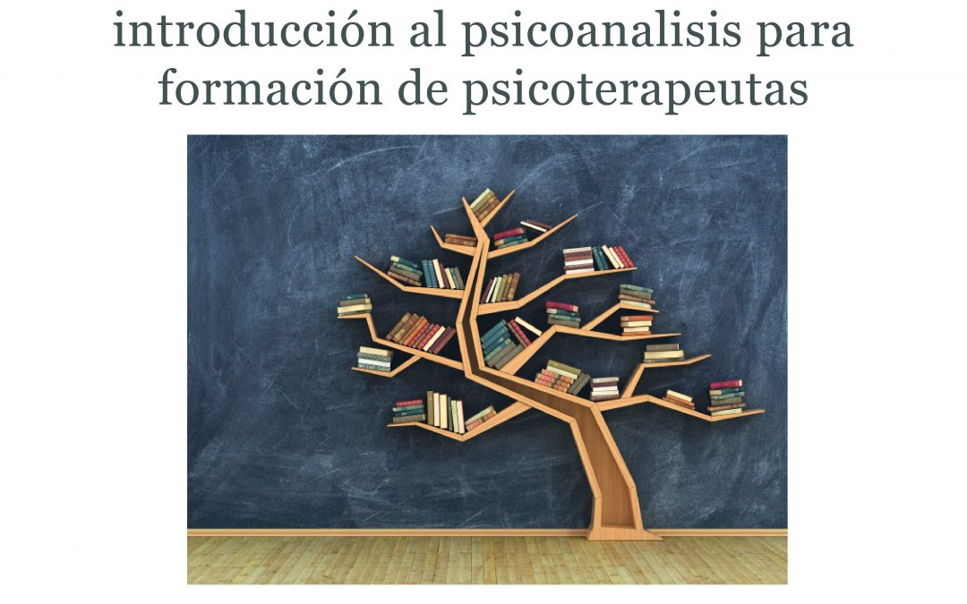 NUEVA EDICIÓN DEL CURSO INTENSIVO DE INTRODUCCIÓN AL PSICOANÁLISIS PARA FORMACIÓN DE PSICOTERAPEUTAS