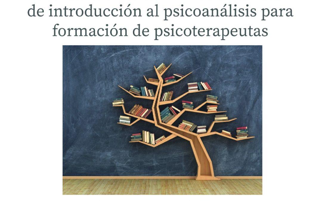 XI Curso Intensivo de Introducción al Psicoanálisis