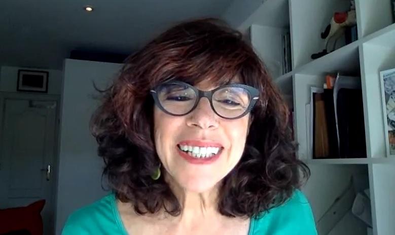 Claudia Schutt protagoniza un nuevo encuentro digital en 'Compartir en familia'
