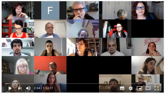 VÍDEO:  'El psicoterapeuta frente a lo traumático: lo nuevo en tiempos de pandemia'